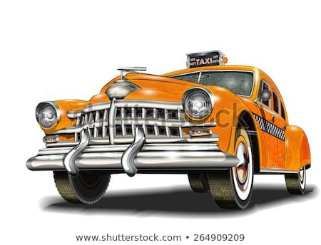 такси · символ · бизнеса · дороги · город - Сток-фото © netkov1