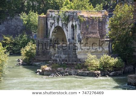 Pons Aemilius, Rome Stock photo © borisb17