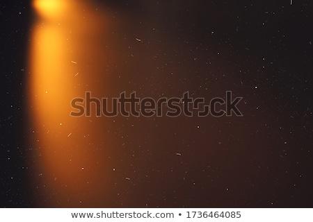 Burning photo frame Stock photo © m_pavlov