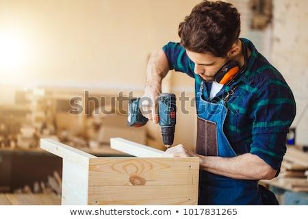 Bored carpenter, Stock photo © photography33