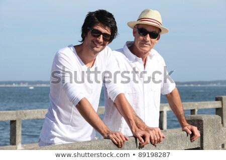 пенсионер · облака · стороны · стены · солнце - Сток-фото © photography33