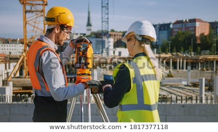 архитектора технологий телефон безопасности мобильных говорить Сток-фото © photography33