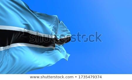 Political waving flag of Botswana Stock photo © perysty