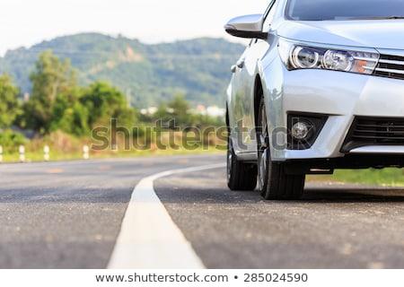 umido · asfalto · texture · alto · strada - foto d'archivio © taden