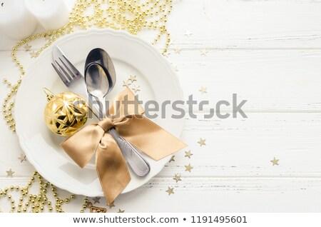festive dish Stock photo © ssuaphoto