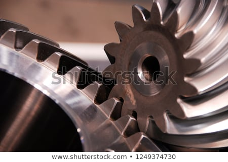 Isolated pinion (gear) Stock photo © anbuch