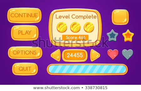Score bord pourpre vecteur icône design Photo stock © rizwanali3d