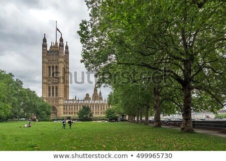 Victoria Tower Reflection Zdjęcia stock © stoyanh