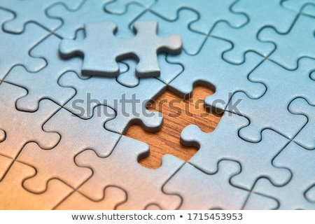 Integrity - Puzzle on the Place of Missing Pieces. Stock photo © tashatuvango