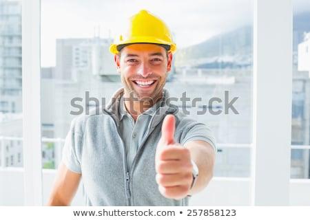 Gelukkig mannelijke technicus portret Stockfoto © wavebreak_media