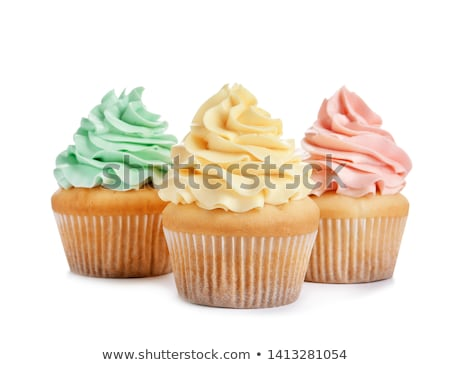 cupcake isolated on a white background stock photo © g215