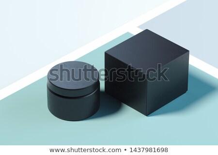 3d black multicolored box stock photo © romvo
