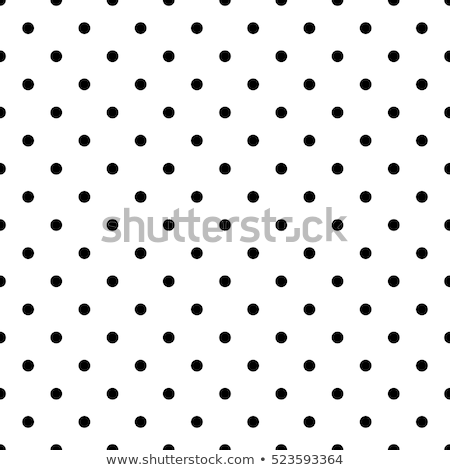 Circles polka dot simple seamless vector pattern. Stock photo © yopixart