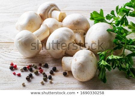 Funghi Spice ciotola alimentare funghi pasto Foto d'archivio © tycoon