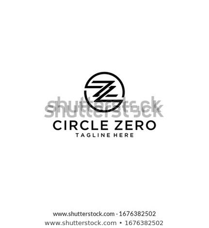 Minimal modernen geometrischen Schreiben logo-Design Dreieck Stock foto © kyryloff
