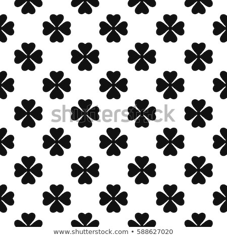 seamless clover pattern stock photo © sahua