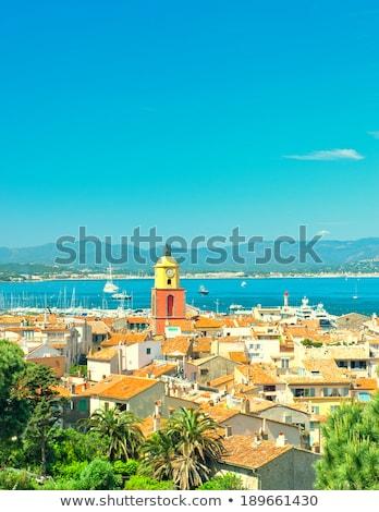 azul · mar · blue · sky · férias · férias · verão - foto stock © juniart