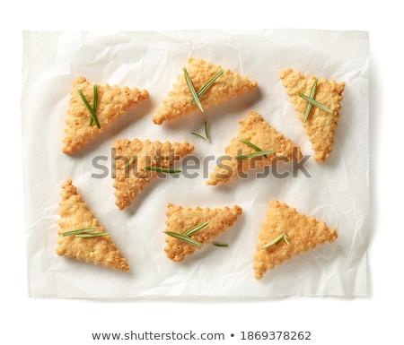 Baking sheet isolated on white background Stock photo © ozaiachin