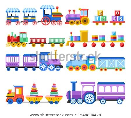 tren · tekerlekler · yeni · makine · stok - stok fotoğraf © grazvydas