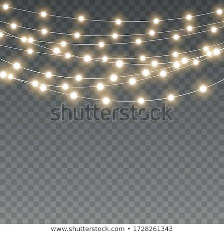 Noël lampe décoration Photo stock © MKucova