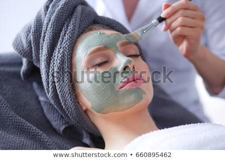 acne · faccia · maschio · ace · problema · pelle - foto d'archivio © fisher