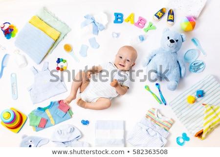 Baba kívánság lista illusztráció gyerekek vicces Stock fotó © adrenalina