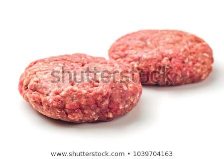 Fresh burger patty Stock photo © Digifoodstock