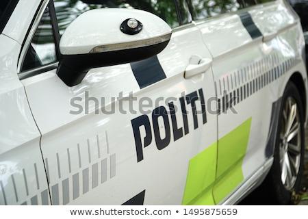 Denmark Police Car  Stock photo © derocz