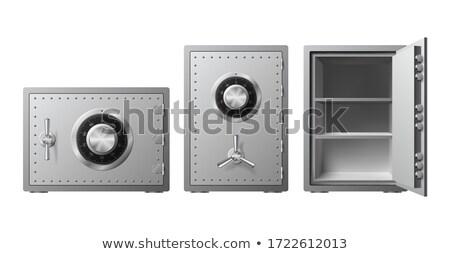 cuadro · aislado · icono · dinero · almacenamiento - foto stock © studioworkstock