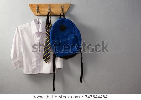 школьную форму подвесной крюк стены образование галстук Сток-фото © wavebreak_media