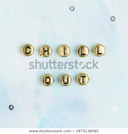 Spell English word gold Stock photo © bluering