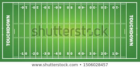 ストックフォト: アメリカン · サッカー · パターン · スポーツ · eps · 10