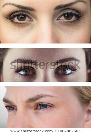 Különböző szemek három digitális kompozit férfi üzletember Stock fotó © wavebreak_media