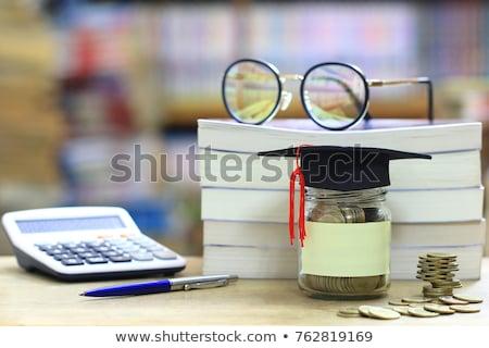 Financieros alfabetismo libro camino libertad negocios Foto stock © Kotenko
