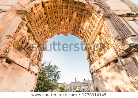 Roman Triumphal Arch Stock photo © cosma