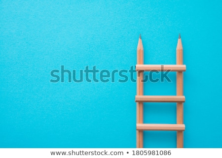 Studying on stairs. Stock photo © Fisher