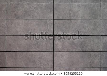 gray ceramic tiles closeup stock photo © oleksandro
