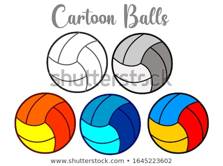 Soccer green and ball.Vector Stock photo © jabkitticha
