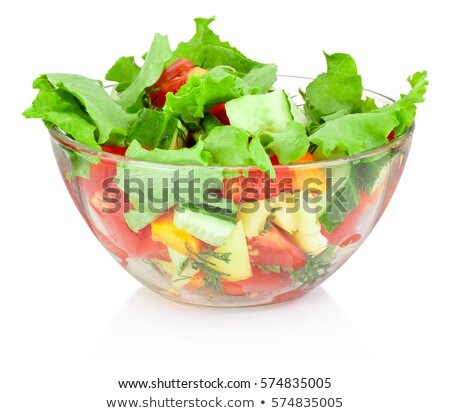 planta · vidro · tigela · natureza · folha · verde - foto stock © simply