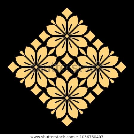Ornament henna tattoo mandala Stockfoto © frescomovie