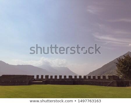 古代 · 城 · 空 · 家 · 建物 · 建設 - ストックフォト © fisher