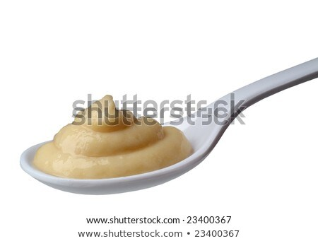 spoon of semolina pudding Stock photo © Digifoodstock