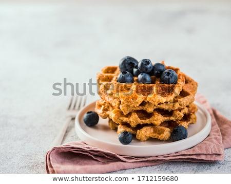 yumuşak · ahududu · kahvaltı · taze · karpuzu - stok fotoğraf © dash