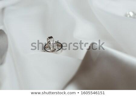 Close-up of newly wed couple Stock photo © Kzenon