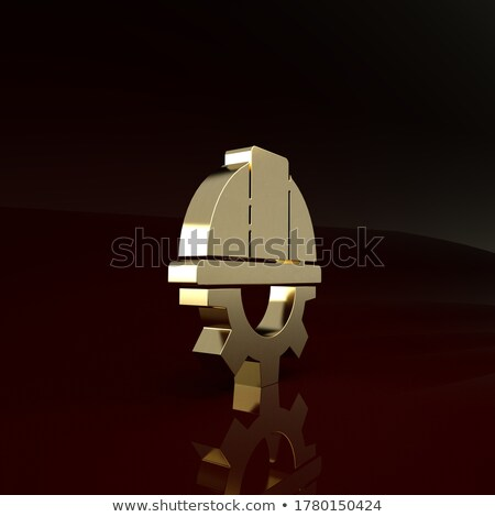 Golden Cog Gears with Tools Repair Concept. 3D Illustration. Stock photo © tashatuvango