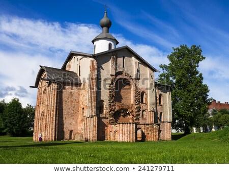church of st parasceva the friday on the marketplace veliky no stock photo © borisb17