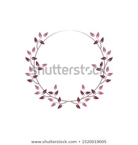 Vintage floreale fotogrammi rosa decorativo ivy Foto d'archivio © Imaagio