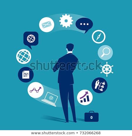 Finances management vector concept metaphor Stock photo © RAStudio