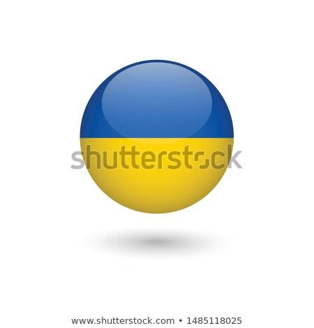 Oekraïne vlag witte wereld teken golf Stockfoto © butenkow