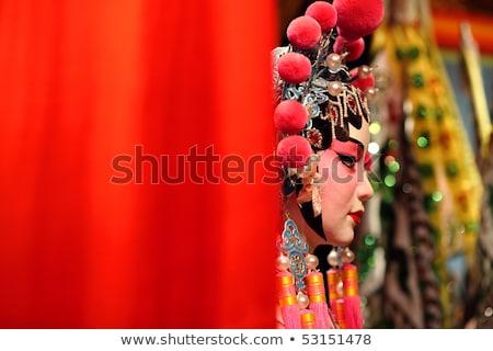 опера фон мужчин театра красный этап Сток-фото © kawing921